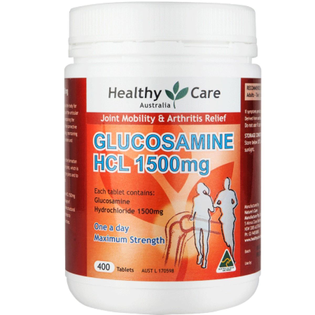 Healthy Care HC  盐酸维骨力400粒